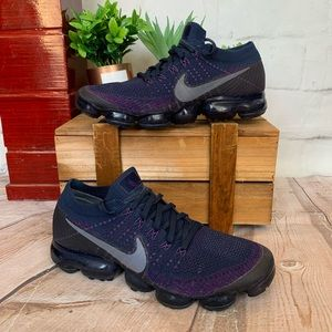 Mike VaporMax College Navy Night Purple Sneakers
